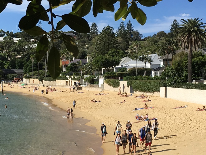 Camp Cove Watsons Bay swimming, amenities,cafe, walks