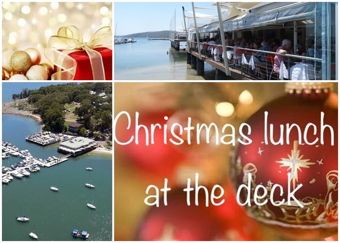 christmas day lunch, nelson bay, port stephens, soldiers point, the deck, marina, christmas, lunch, christmas day, restaurants, views, 2018, restaurants with views, NSW,