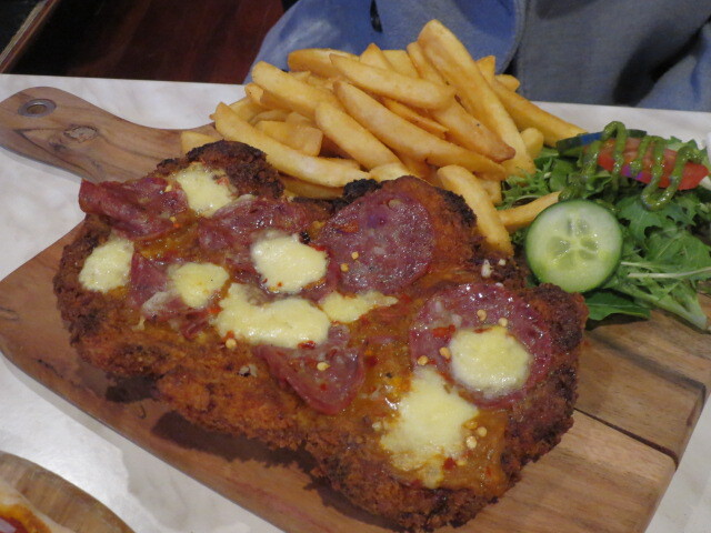 Dat Place, Pepperoni Chicken Parmigiana, Adelaide