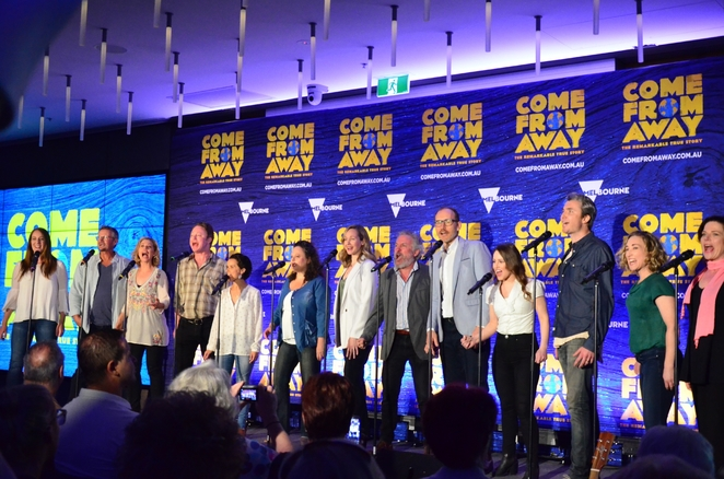 Elite Australian Cast for Come From Away