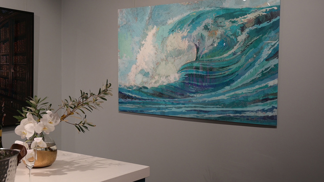 Feel the stoke of the wave inside your home