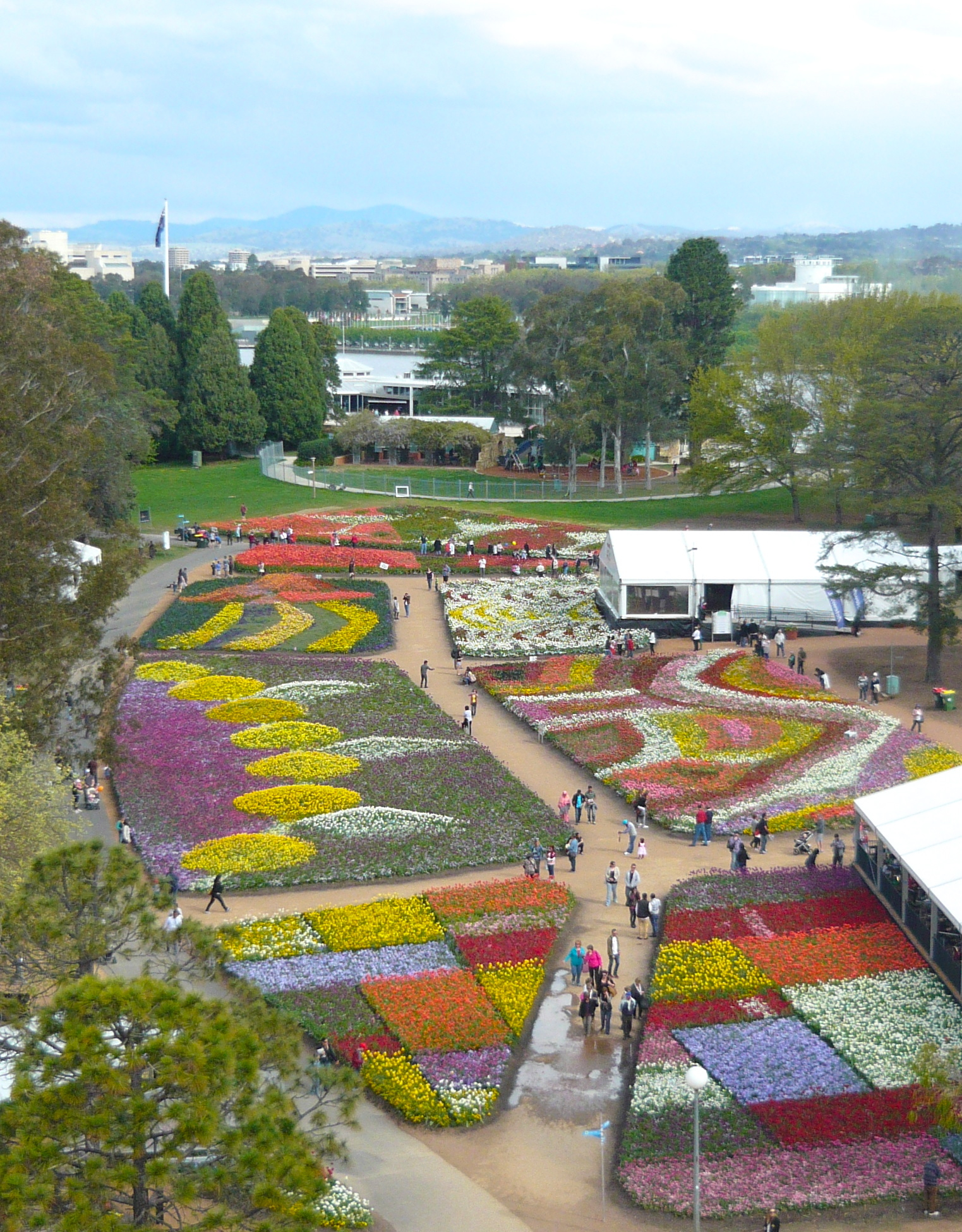 Floriade 2013 beautiful innovation canberra by nini for Garden design ideas canberra