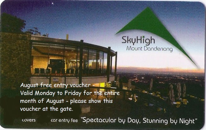 Free Entry to SkyHigh in August