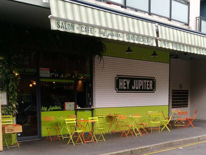 Hey Jupiter, Adelaide, Rundle Street, Cafe, French