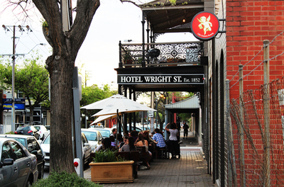 hotel wright street, adelaide, local cider