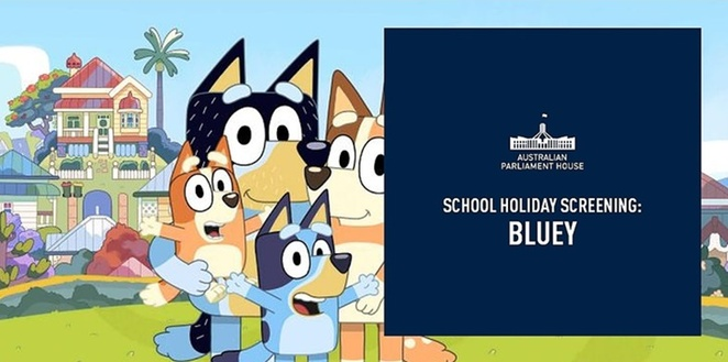 humanitix, parliament house, canberra, ACT, school holidays, bluey, free, octiber, 2019, spring events, spring calendar, things to do, kids, children,