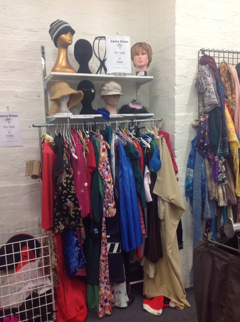The fancy dress section