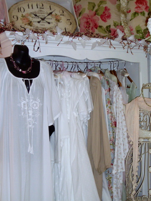 Choice of cotton nightgowns