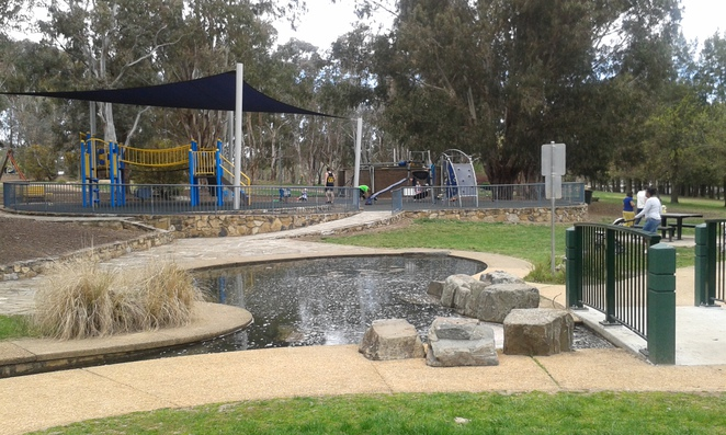 John Knight Memorial Park, best playgrounds in canberra, best playgrounds in ACT, free BBQ's, picnic spots in canberra