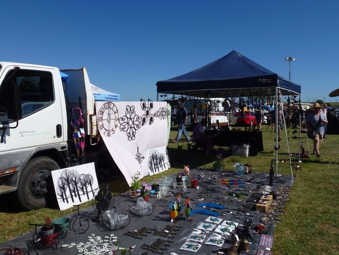 Kalbar Swap Meet, markets, stall, Kalbar, Scenic Rim, Car, Vintage, Collectables