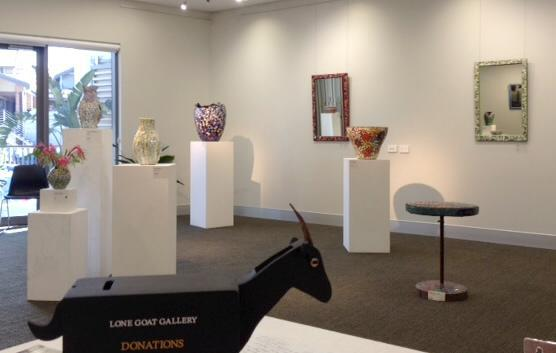 lone goat gallery, byron bay, art, exhibitions