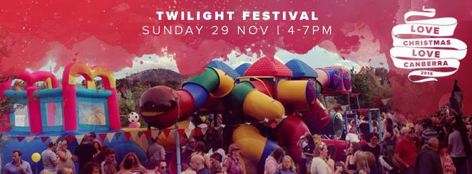 Love Christmas, Love Canberra, Twilight Festival, Canberra 2015,
