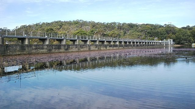 Manly Dam Wall