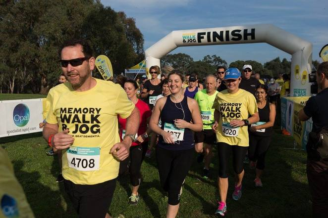 melbourne memory walk and jog 2018, dementia australia, templestowe, charity, fundraiser, community event, fun things to do, health and fitness, mental health, family friendly activities, walking event, running event, support dementia, raise funds, donate