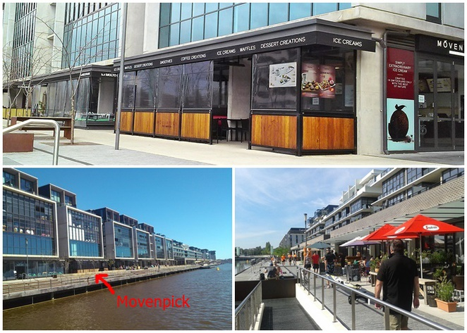 movenpick, kingston foreshore, ACT, ice cream, breakfast, ice creameries, ice cream parlour, dessert cafe
