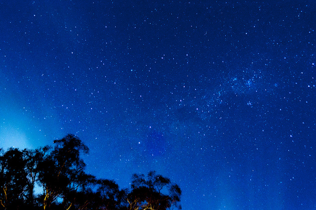 night sky constellation australia stars darkness