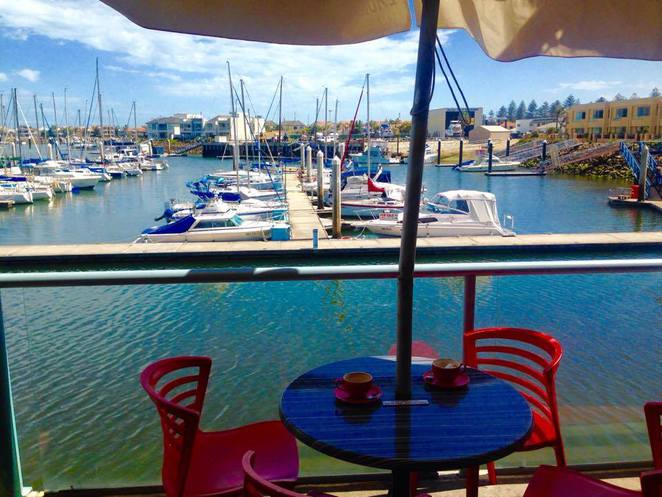 north haven marina gulf point centre abbracci restaurant semaphore largs outer harbour adelaide beaches boats ships