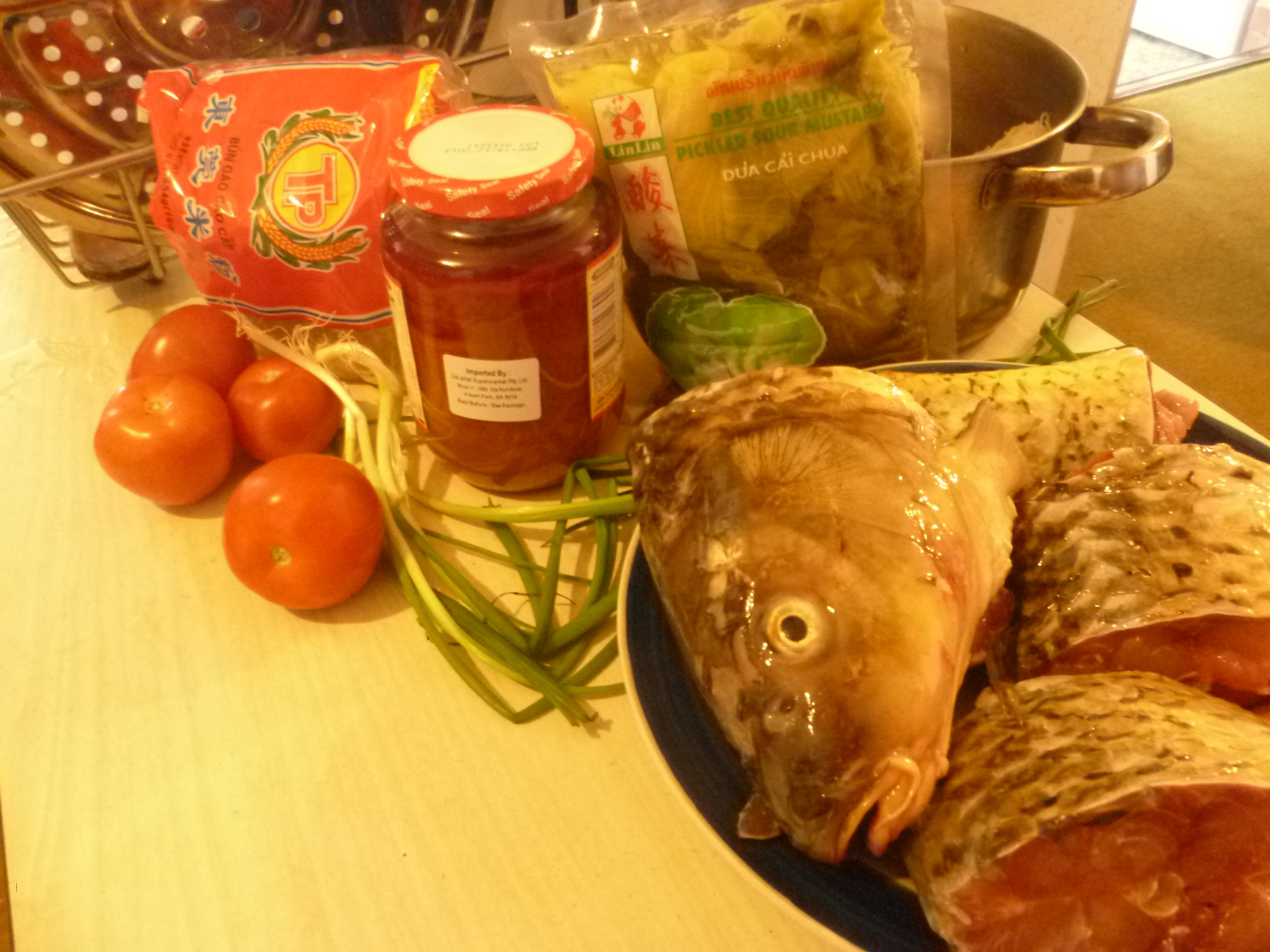 Pickled carp. Recipes for beginners culinary 78