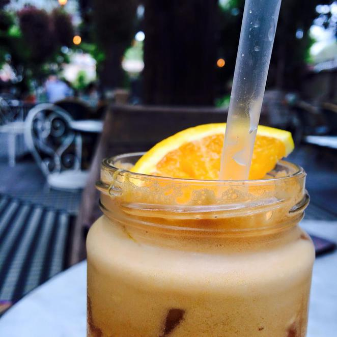 passionfruit, orange, juice, drink, the potting shed, the grounds, alexandria