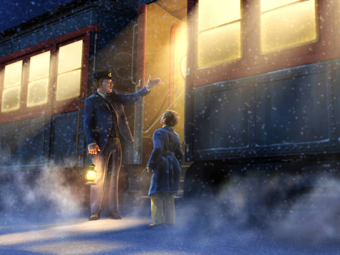 Polar Express Tom Hanks