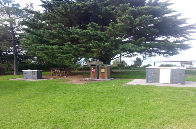 Princess Park, Queenscliffe, Bellarine, Parks, Picnic Spots, Playgrounds, near Geelong, grass, BBQs, barbecues, public barbecues, picnic facilities,