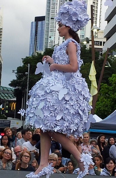recreate, fashion, markets, recycled, National Recycling Week, fashion parade, twilight market, handmade, may cross