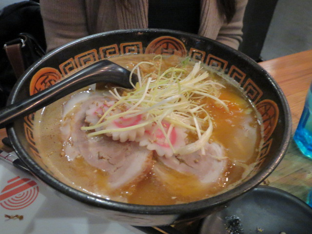 Ryo's Noodles, Ramen in Soy Sauce Flavoured Soup with Roast Pork, Egg and Naruto, Adelaide