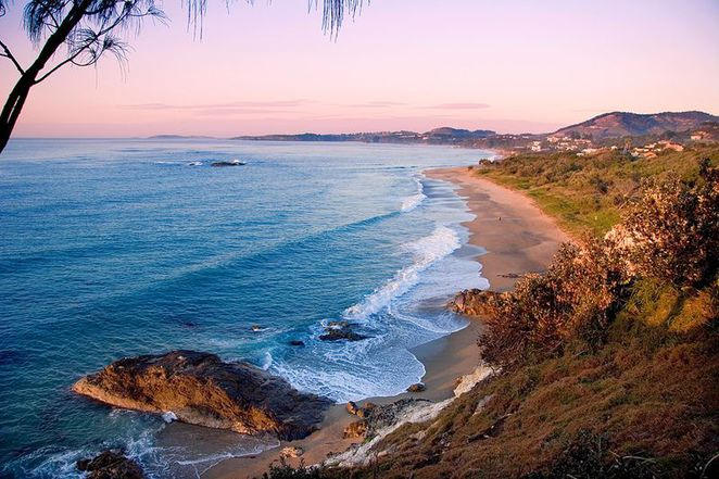 sapphire beach, coffs harbour, north coast, nsw, holiday