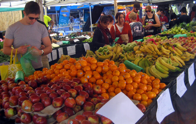In most cities markets remain open and provide the best option to get good prices on fresh fruit and vegetables