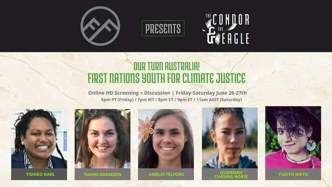 the condor & the eagle screening 2020 and q&a, community event, fun things to do, environmental film festival australia, effa 2020, seed indigenous youth climate network, online screening event, fundraiser, charity, donation based online event, caring for country, first nations communities, join the discussion, aboriginal affairs, indigenous australia, first nations communities, educational, black lives matter