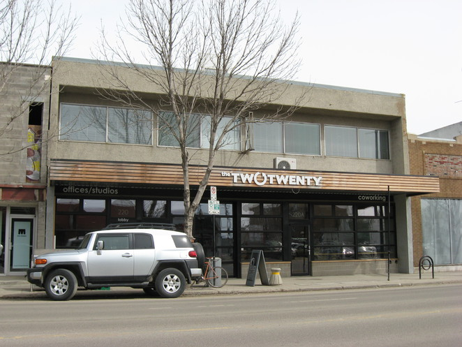 two, twenty, saskatoon, riversdale, alternative, workspaces