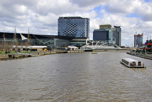 Victoria Melbourne South Wharf Yarra River Riverside Restaurants Bars Eating Out