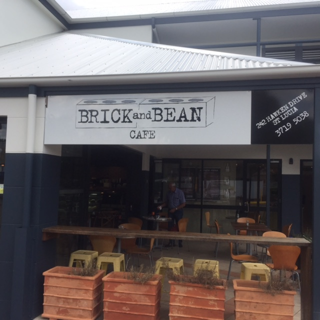 W1 Brick and Bean Cafe, St Lucia, Brisbane, university of QLD, open every day, breakfast, lunch