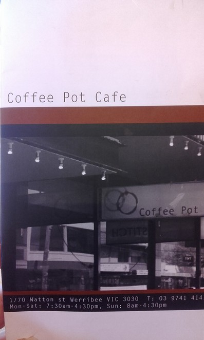 werribee, cafe, resturant, food, drink, coffee, tea, lunch, brunch, dinner, diner, pot, coffee pot cafe, coffee pot, family