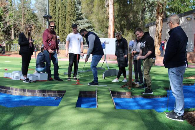yarralumla play station, mini gilf, kids, adults, fathers day, 2019, whats on, canberra, ACT, things to do, outdoors, mini golf locations,