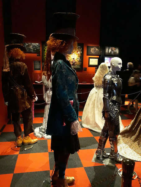 Costumes at Wonderland at ACMI