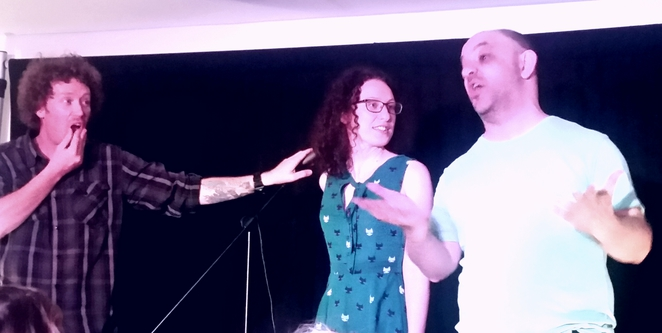 3 States of Comedy, Reinstated, Melbourne International Comedy Festival 2016, Becky Steepe, Geoff Setty, Danny Stitson, The Grand Mercure Hotel, The Downstairs Lounge