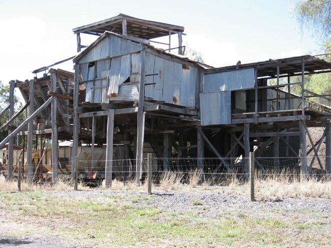 Old colliery near Acland