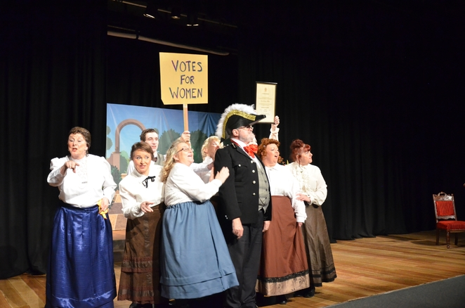 All aboard the crew of HMS Old Time Music Hall