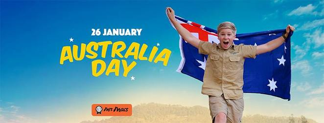 Australia Day, Australia Zoo, Darren Percival performs live, Mount Franklin Crocoseum, Wildlife Warriors, Free Billy Tea and Damper, Rotary Club of Glasshouse Mountains, Pav and Lamingtonn Decorating, The Country Chef Bakery Co, Pie Eating Competition, Mrs Mac's, face painting, major prize draw, Peppers Noosa Resort and Villas, colouring-in competition, pony rides, animal encounters, zip-a-dee-doo-dah kind of day