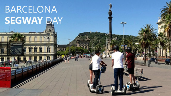 Barcelona, things to do in Barcelona, Segway Barcelona Tour