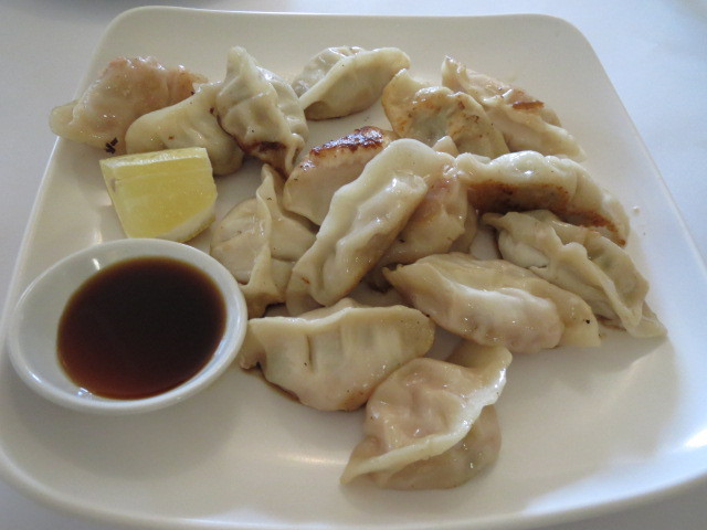 Bei-Fang Chinese Restaurant, Spicy Chicken & Chicken with Shiitake Mushroom Dumplings, Adelaide