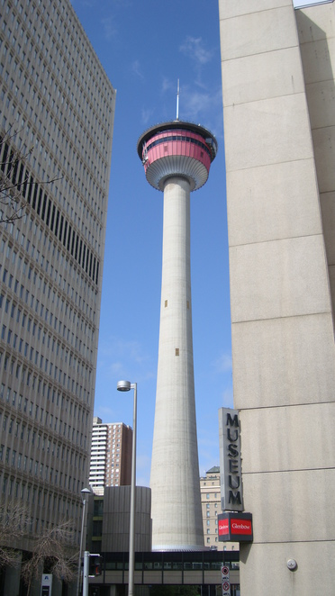 Calgary, Calgary Tower, panoramic views, observation tower