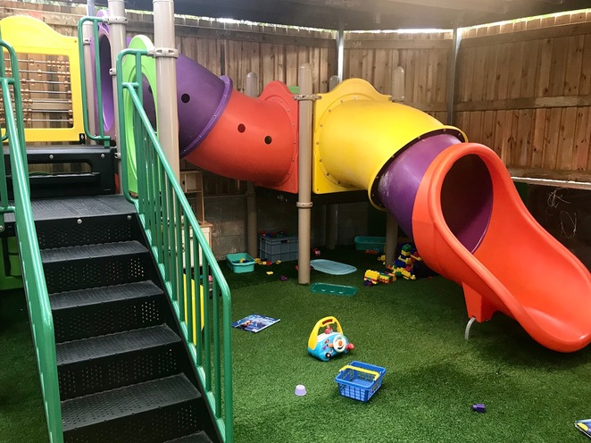 chermside funkateers pizza playground child-friendly