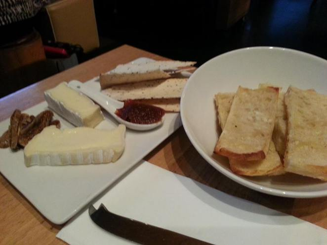 cru bar, cheese platter, james street restaurants