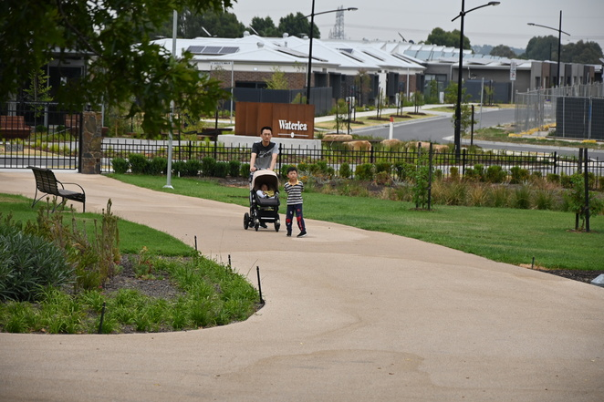 Families can stroll from home to this wonderful facilities