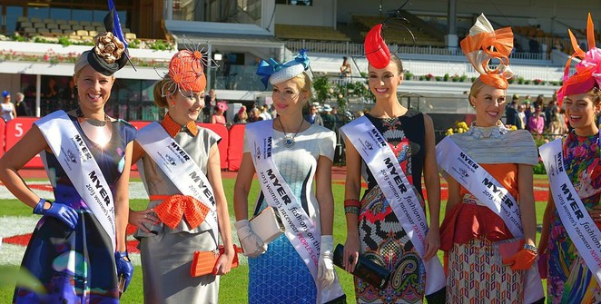 fashions on the field, melbourne cup, horse racing in melbourne. melbourne fashions, emirates, oaks day,
