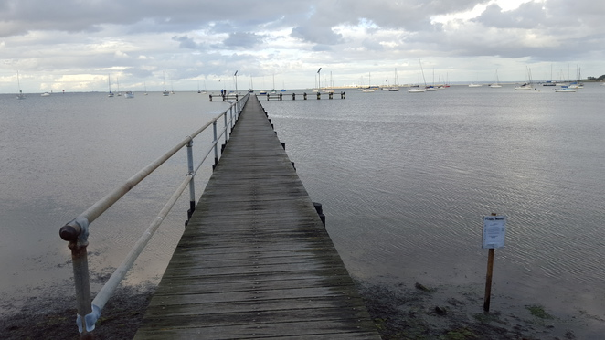 Griffin Gully Pier, Corio Bay, Geelong