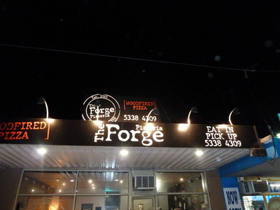 Forge, pizza