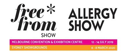 Free From Show and Allergy Show Melbourne food allergies intolerances